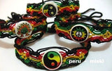 500 Rasta Friendship Bracelets with ceramic beads