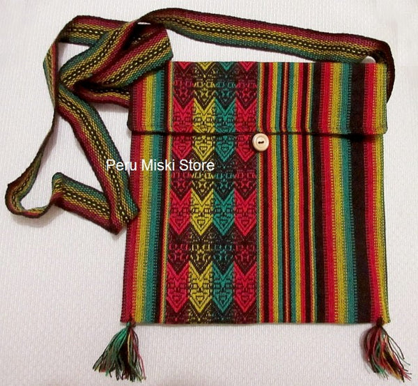 5 Rasta Shoulder Bags - Messenger bags