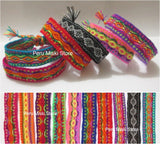 100 Friendship Bracelets, Ribbons, wholesale lot
