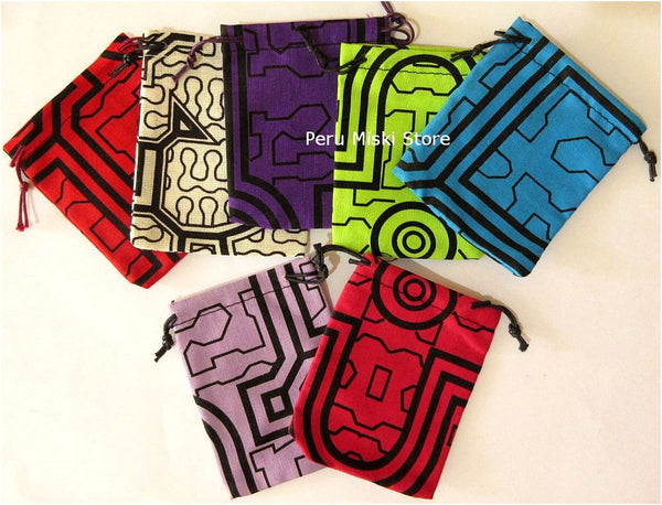 Shipibo Jewelry pouches small