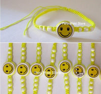 70 Friendship Bracelets with Smiley Face