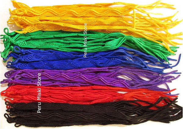 Friendship Bracelets Zigzag, Solid Color