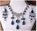 50 Sets, Semiprecious stones and alpaca silver, necklaces and matching earrings