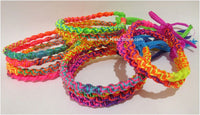1000 Friendship Bracelets Spiral Muticolor