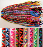100 lot Friendship Bracelets Tube