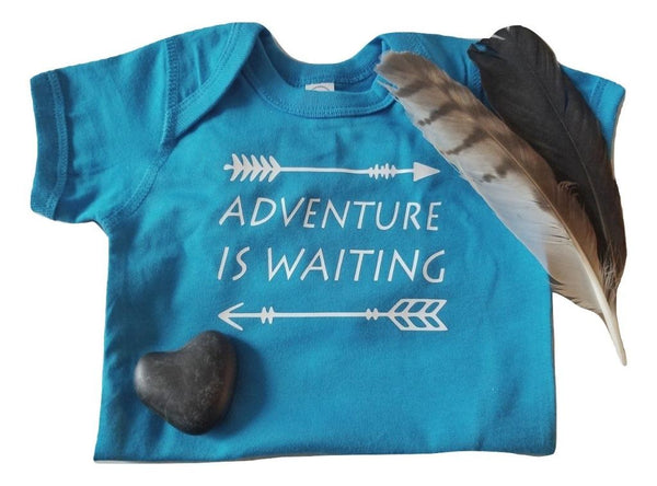 Adventure Is Waiting Baby Onesie Clothing