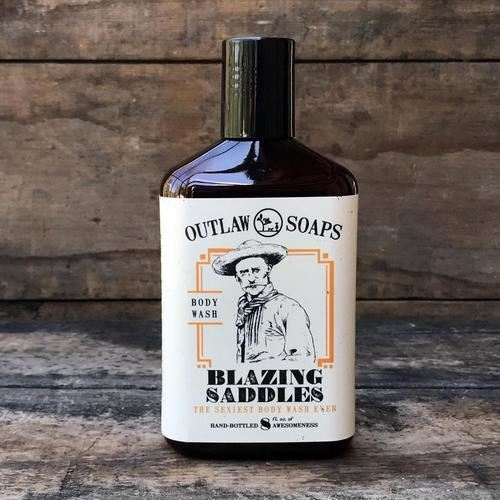 Outlaw Soaps-Homemade Soaps Body Wash-Blazing Saddles