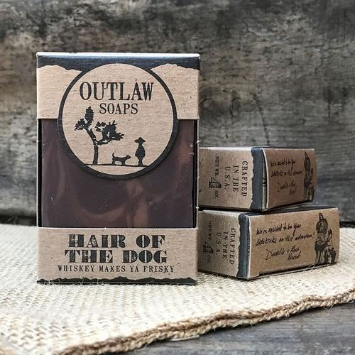 Outlaw Soaps-Homemade Soaps Hair Of The Dog