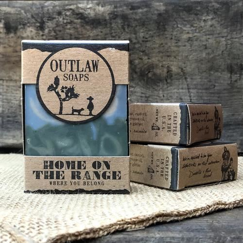 Outlaw Soaps-Homemade Soaps Home On The Range
