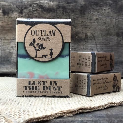 Outlaw Soaps-Homemade Soaps Lust In The Dust
