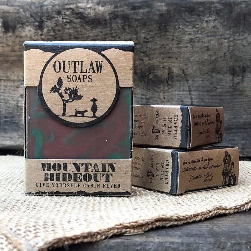 Outlaw Soaps-Homemade Soaps Mountain Hideout