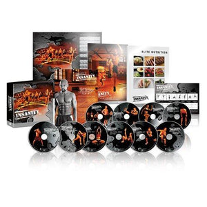 Insanity DVD Workout Base Kit Plus Deluxe DVD Upgrade
