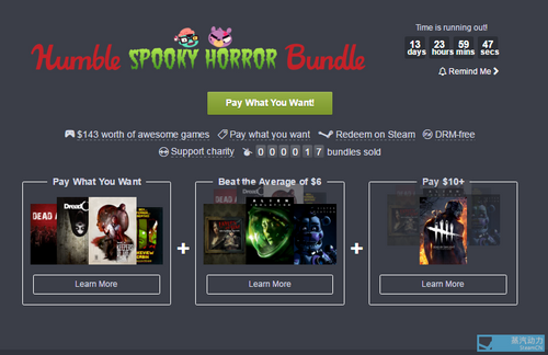 Humble Spooky Horror Bundle PC Steam game Code Download