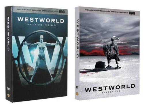 Westworld The Complete Season 1-2 (DVD, 2018, 6-Disc Set)