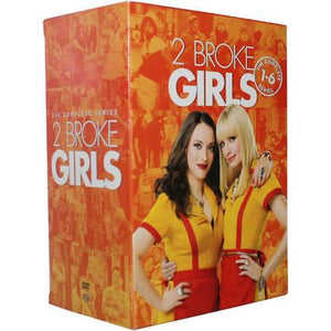 2 Broke Girls The Complete Series  [DVD]