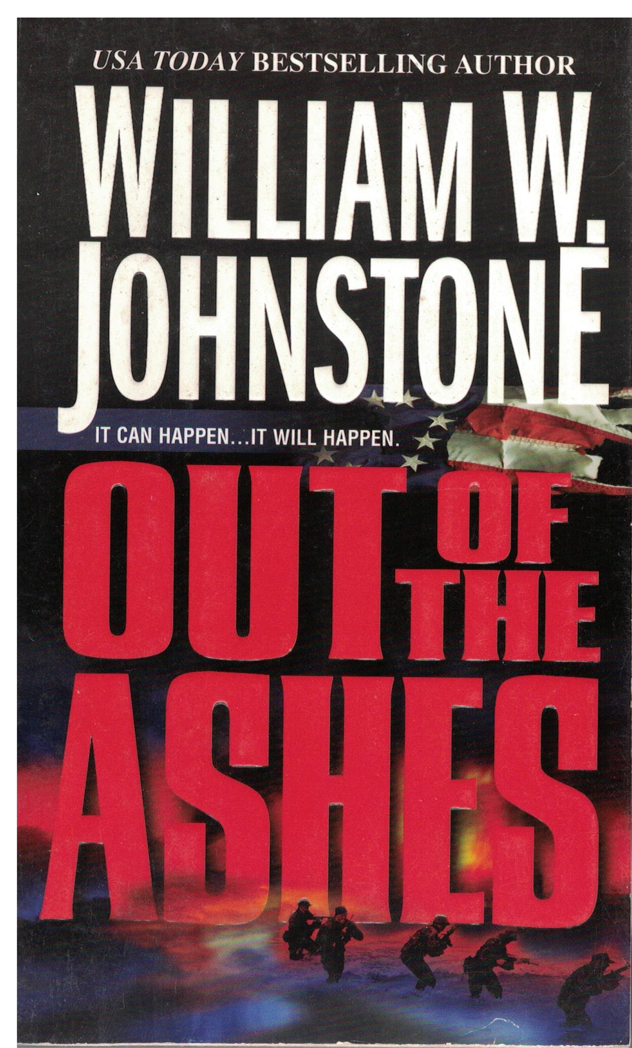Out of the Ashes by William Johnstone - 0786019530