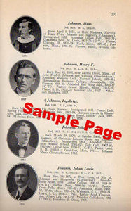 Akre, Ole Johnson / Norwegian Lutheran Pastors in America / 1843-1927
