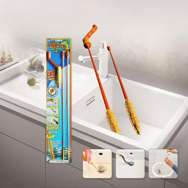 Apartment Kitchen Sink Clogged: Drain Weasel Wand Set