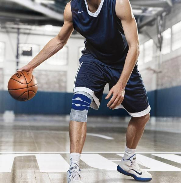 992b33b884 ... BUY 1 GET 1 FREE Nylon Silicon Knee Brace - Perfect Protection for  Sports ...