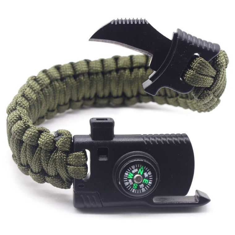 Multi-Functional Survival Bracelet