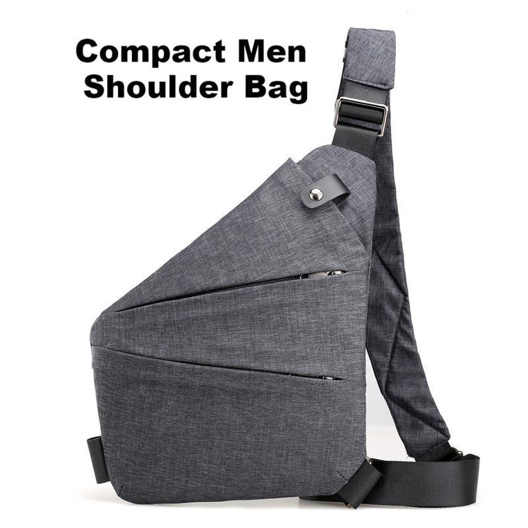 Compact Men Shoulder Bag