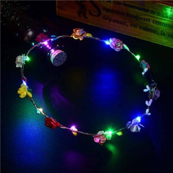 LED Flower Crown