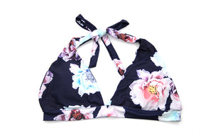 Summer Blooms Hipster Brazilian Bikini Set