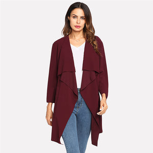 Lilli Waterfall Trench Coat