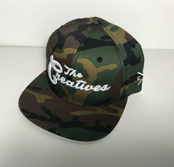 The Creatives Camo Snapback