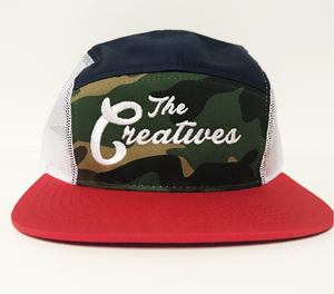 5 Panel Creatives Cap