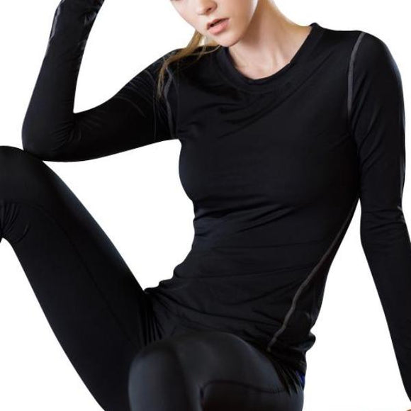 Long Sleeve Quick Dry Workout Top