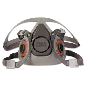 3M Half Facepiece Respirator 6000 Series (Small 6100, Medium 6200, Large 6300)