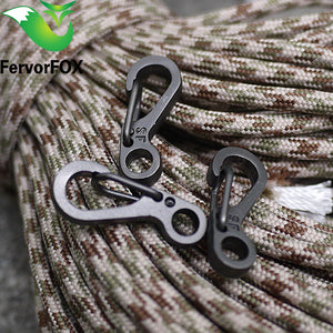 10PCS Mini Spring Backpack Clasp Hooks for Paracord