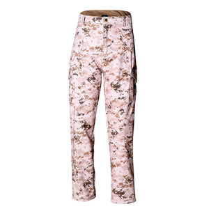 Sharkskin Softshell Tactical Waterproof Military Camouflage Pants - Several Colors/Patterns