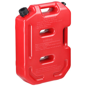 2.5 Gallon Plastic Stackable Ultra-Portable Gasoline Fuel Tank Container - Gas Can