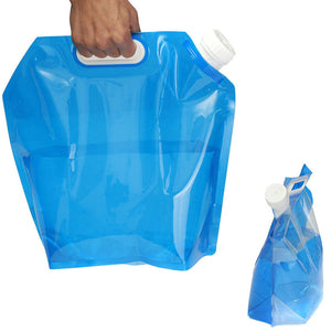 5 Liter PE Water Bag For Portable Water Storage