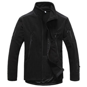 Men's Windproof Fleece Jacket - Perfect for layering or by itself