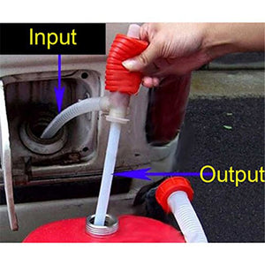Low Cost Universal Hand Liquid Siphon Hose