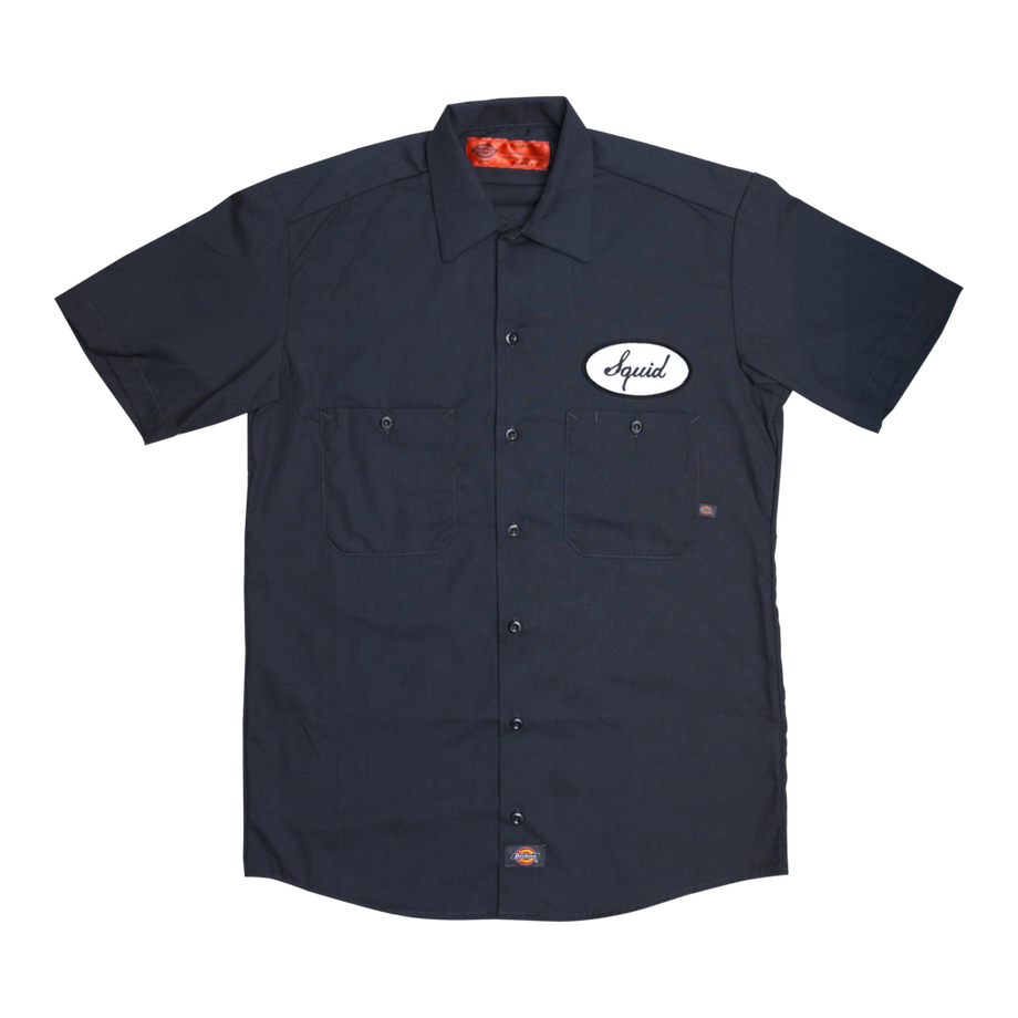 SQUID DICKIES WORK SHIRT