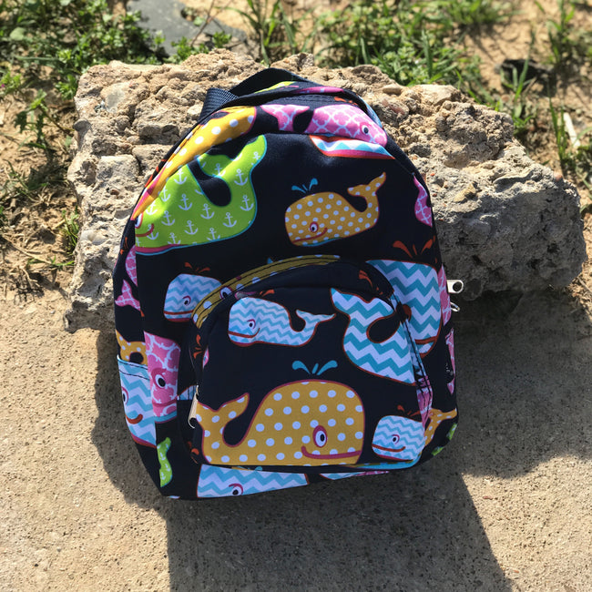 Daycare Backpack Whales
