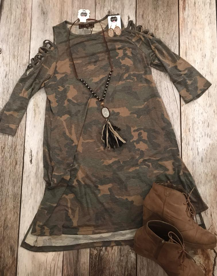 Womens Camo Dress/ Tunic