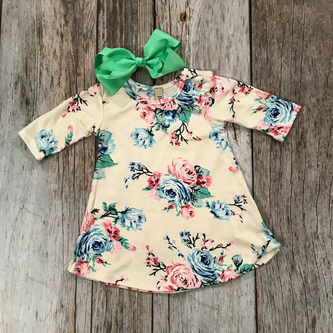 Baby Girl Sweet Spring Floral Dress
