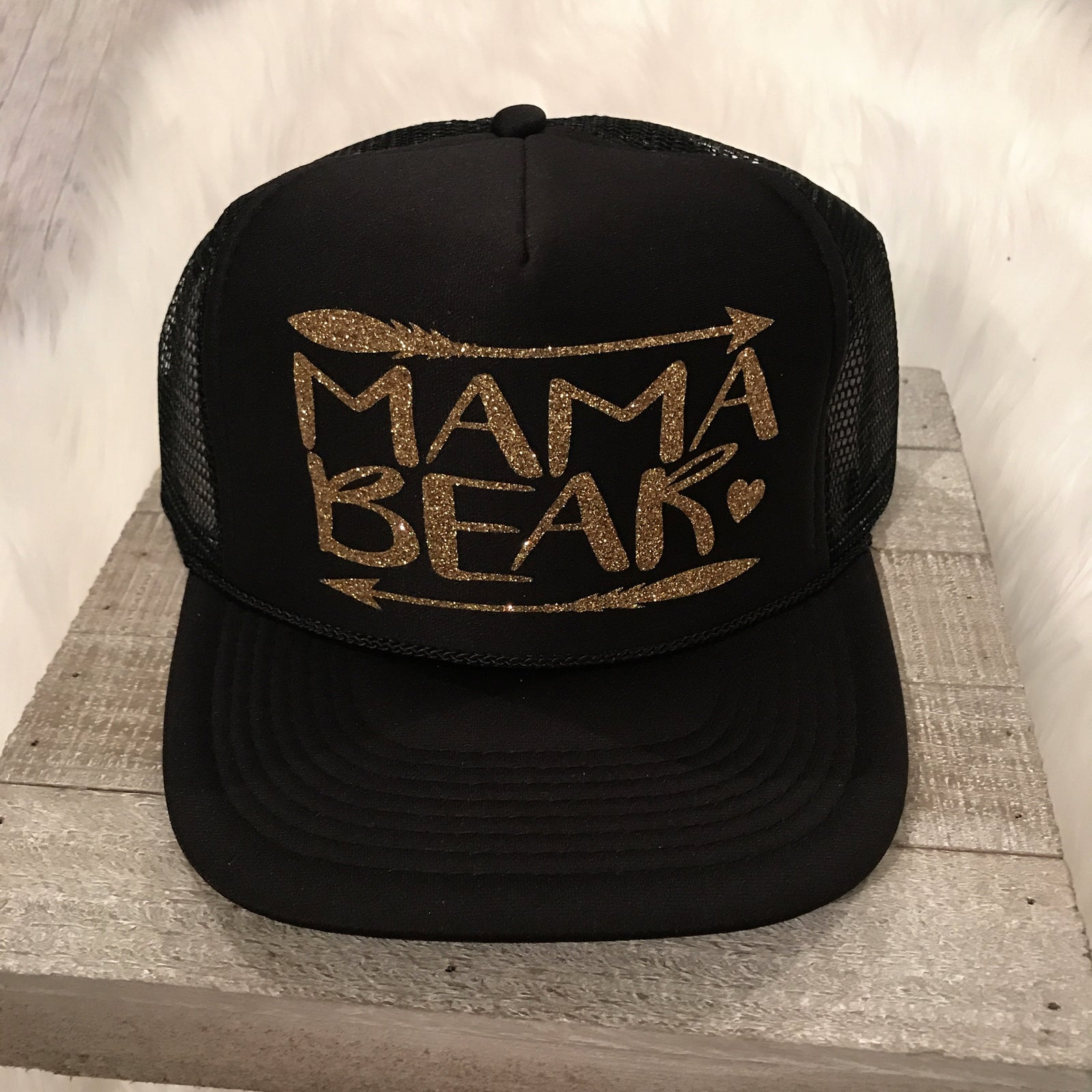 Womens Trucker MAMA BEAR
