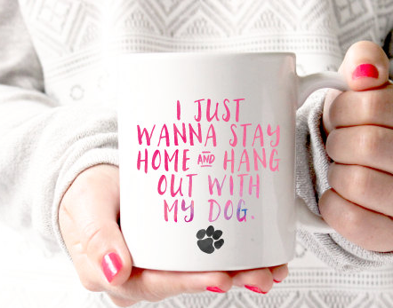 Hang With My Dog Coffee Mug