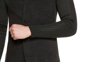 Slim Fit Men's Wool Blazer