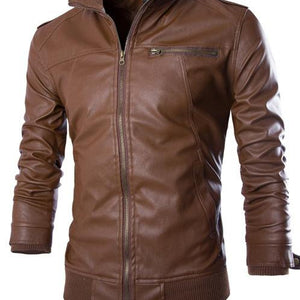 Slim Fit Motorcycle Jacket