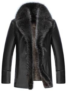 Fur Trim Thick Overcoat