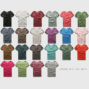 Slim Fit V Neck T-Shirt