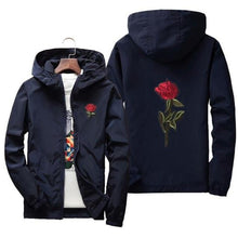 Men's Windbreaker Rose College Jacket