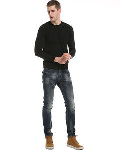 Casual Cotton Jeans Men